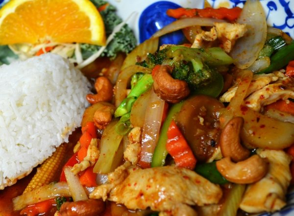 Pad Cashew Nuts with Chicken